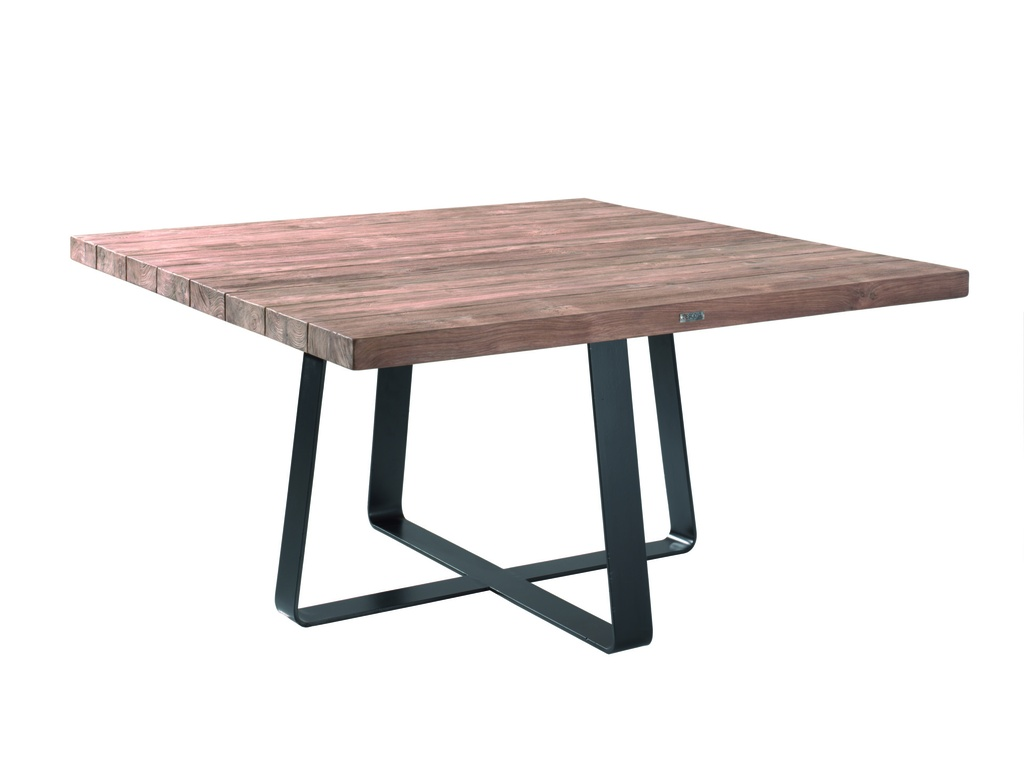 GESCOVA - Table Margarite carrée 80 cm